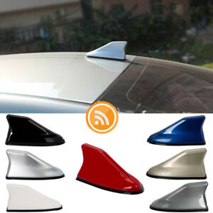 Shark Fin Roof Antenna Aerial FM/AM Radio Signal Car Trim Universal - 7 COLORS