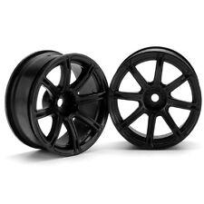 HPI Racing 3307 Work Emotion XC8 Wheel 26mm 6mm Offset Black(2) Sprint 2 / Ni...