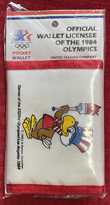 Official wallet of the 1984 Olympics various colors and styles