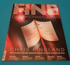 FINE DAS WEINMAGAZIN 2/2018 Chris Ringland   ungelesen 1A absolut TOP