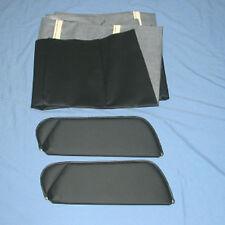 71-73 camaro  new sun visors with headliner black non perforated