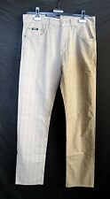 HUGO BOSS Hose Karo Gr 38-40 W30 L34 Baumwolle Regular Straight 119,- D2348