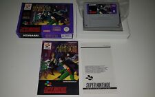 THE ADVENTURES OF BATMAN & ROBIN Super Nintendo Pal snes rare konami original