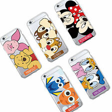 Parejas Disney Funda Carcasa para iPhone 5,6,7,8,X Samsung Galaxy S6, S7, S8, J5