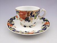 """Antique """"Majestic"""" John Maddock & Sons Royal Vitreous Demitasse Cup & Saucer #1"""