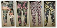 JoyLab womens Printed Performance fabric midrise 7/8 length legging key pocket