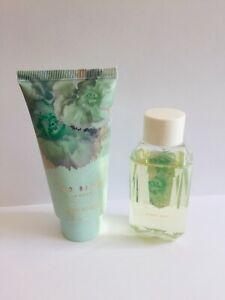 Ted Baker Green FRESH & FRUITY Body Bubble Bath &  Body Lotion Travel Set 50ml