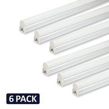 (Pack of 6) Barrina LED T5 Integrated Single Fixture, 4FT, 2200lm, 6500K (Super