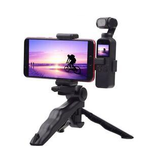 Phone Camera Securing Clip Holder Mount Foldable Tripod Extended Bracket Handhel
