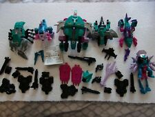 Seacons Piranacon ~complete with weapons 1988 G1 Transformers Action Figure