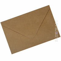 C5 Brown Ribbed Kraft Envelopes - Premium Quality 100gsm