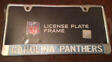 Carolina Panthers NFL Metal License Plate Frame