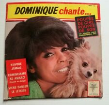 "DOMINIQUE CHANTE...Poupée de cire, poupée de son 7"" EP TRIANON 4531 Gainsbourg"