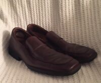 ROCKPORT GENUINE LEATHER Men's Slip On Brown Shoes Size 13M