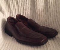 ROCKPORT GENUINE LEATHER Men's Slip On Brown Shoes Size 13M