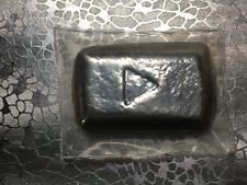 *YPS Silver Slacker Play Button* 1oz .999 Fine Yeager's Poured Silver ~LIMITED~