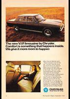 "1969 VF CHRYSLER VALIANT VIP AD A1 CANVAS PRINT POSTER FRAMED 33.1""x23.4"""