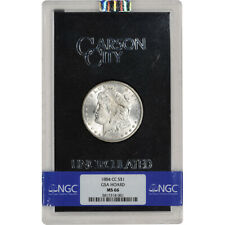 1884-CC US Morgan Silver Dollar $1 - GSA Holder - Uncirculated - NGC MS66
