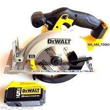 "Dewalt DCS391 20V Cordless 6 1/2"" Circular Saw, 1) DCB205 5.0 AH Battery 20 volt"