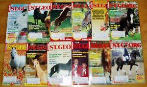 St. Georg 2000 komplett 1-12 Pferde Magazin Zeitschrift komplett Reiter Züchter