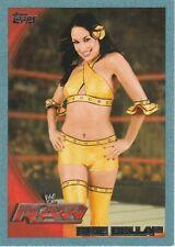 2010 Topps WWE Blue Boarder Brie Bella
