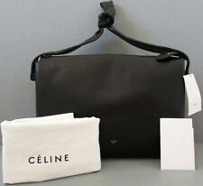 Celine Knot Shoulder Bag in Black Leather AUTHENTIC tags & receipt