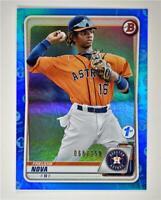 2020 Bowman 1st Edition Blue #BFE-82 Freudis Nova /150 - Houston Astros
