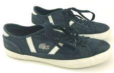 LACOSTE Sideline 119 Mens 9M Sneakers Blue Canvas Skate