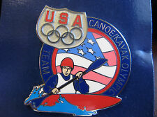 Helpful Olympic Pins 1996 Atlanta Georgia Usa Usa Canoe Kayak Team Usa Noc Country Atlanta 1996 Sports Memorabilia