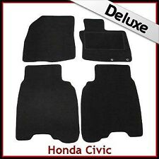 Honda Civic Type R Mk8 2006-2008 Tailored LUXURY 1300g  Carpet Mats BLACK