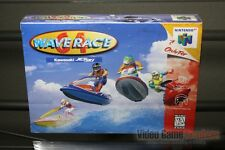 Wave Race 64 First Print (Nintendo 64, N64 1996) H-SEAM SEALED! - ULTRA RARE!