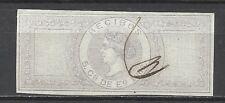 882-GRAN SELLO FISCAL ISABEL II.5 CTS DE ESCUDO 1866
