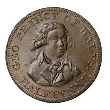 Middlesex Lutwyche's Prince Of Wales National Series Halfpenny Conder Token