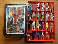Vintage Star Wars Empire Strikes Back Case With 24 Figures + Some Accessories