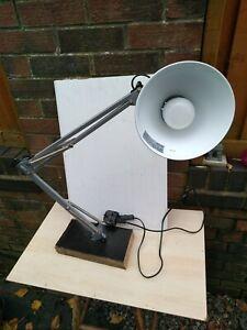 Anglepoise angle poise lamp Ikea desk work garage craft read light bulb adjust