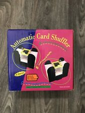 Casino 6-Deck Automatic Card Shuffler Games Playing Deck Poker Four C Batteries