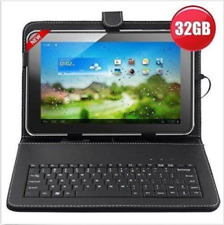 """32GB 10"""" Inch A31s Quad Core Android Tablet + Keyboard Bundle Google Play Hdmi"""