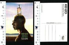 KENZO JUNGLE - POUR HOMME - CARTOLINA PUBBLICITARIA - 56991