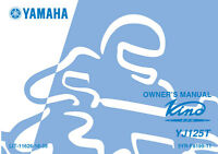 New Yamaha Vino YJ125T YJ 125 T Owners Manual LIT-11626-18-39 FREE SHIPPING