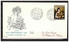 s11720) SAN MARINO 1960 FDC Rodia. Caravaggio 1v