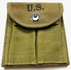 WWII M1 CARBINE RIFLE 15RD BUTT STOCK AMMO POUCH-OD#3