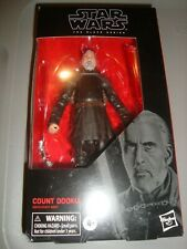 STAR WARS THE BLACK SERIES 6-INCH COUNT DOOKU # 107 IN-STOCK