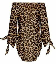 Unbranded Polyester Animal Print Tops & Shirts for Women