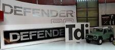 Land Rover Defender SWB 90 TDi Complete Body Badge Decal Label Kit Set Not OEM