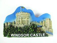Windsor Castle Schloss Magnet 7 cm Poly,Souvenir Großbritannien