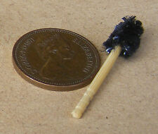 1:12 Scale Handmade Wooden Toilet Brush Dolls House Miniature Loo Accessory rd