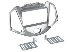 Radioeinbauset Doppel DIN Blende Adapter Ford EcoSport JK8 ab 2014 silber