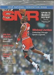 SPORTS Marché Rapport, PSA Prix Guide, Septembre, 2015 - Michael Jordan
