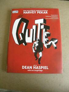 DC Vertigo 2005 Harvey Pekar THE QUITTER hc dj reg $20 NM jw