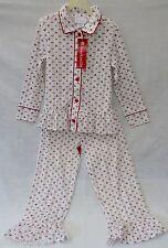 PJ American Girl Bitty Baby 2pc set Pajamas Lg (6/6X) long sleeve 100% Polyester